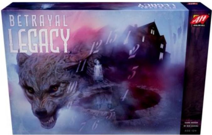 Boxart van Betrayal Legacy (Bordspellen), Avalon Hill